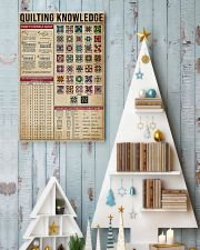 Knowledge Quilting 11x17 Poster lifestyle-holiday-poster-2