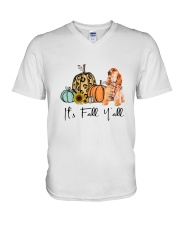 Cocker Spaniel V-Neck T-Shirt thumbnail