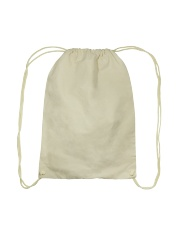 Let's Just Go And Not Come Back For A While Drawstring Bag back