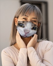 Cat Mask 3 Cloth face mask aos-face-mask-lifestyle-17