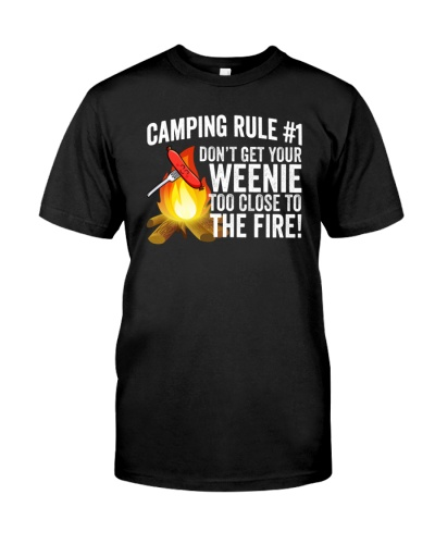 too close to fire Camping