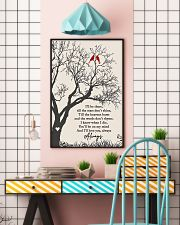 I Will Be There 11x17 Poster lifestyle-poster-6