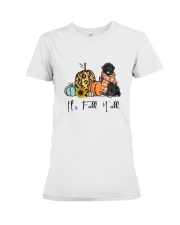 Newfoundland dog Premium Fit Ladies Tee thumbnail