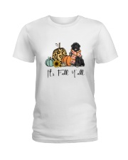 Newfoundland dog Ladies T-Shirt thumbnail