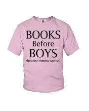 Books Before Boys Youth T-Shirt thumbnail
