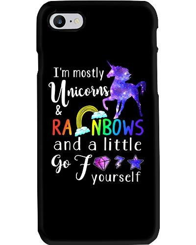 I'm Mostly Unicorns Rainbows