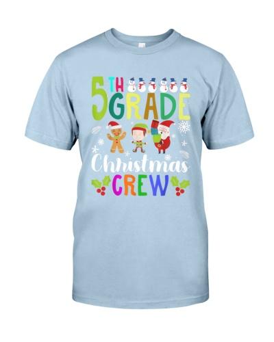 Funny 5th Grade Christmas Crew Teacher