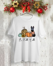 Scottish Terrier Classic T-Shirt lifestyle-holiday-crewneck-front-2