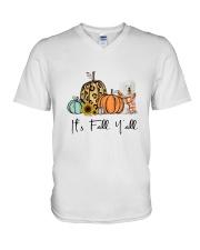 OES dog V-Neck T-Shirt thumbnail