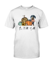 Dachshund Classic T-Shirt front