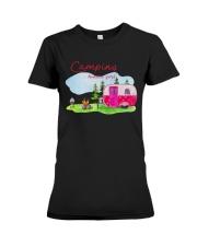 Camping Kinda Girl Premium Fit Ladies Tee thumbnail