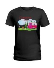 Camping Kinda Girl Ladies T-Shirt front