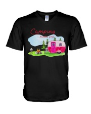 Camping Kinda Girl V-Neck T-Shirt thumbnail