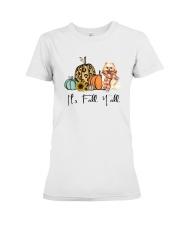 Pomeranian Premium Fit Ladies Tee thumbnail