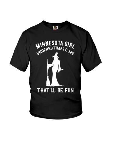 Minnesota Girl Underestimate Me