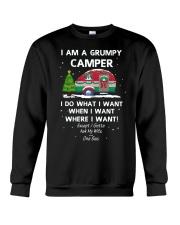 I AM A Grumpy Camper Crewneck Sweatshirt thumbnail