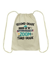2ND GRADE ZOOMING INTO 3RD GRADE Drawstring Bag thumbnail