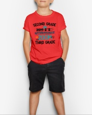 2ND GRADE ZOOMING INTO 3RD GRADE Youth T-Shirt lifestyle-youth-tshirt-front-1