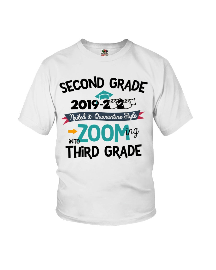 2ND GRADE ZOOMING INTO 3RD GRADE Youth T-Shirt