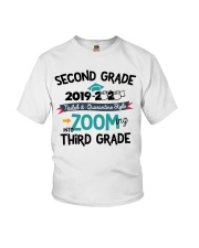2ND GRADE ZOOMING INTO 3RD GRADE Youth T-Shirt front