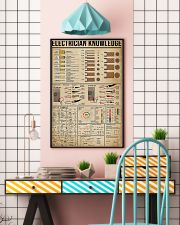 Electrician Knowledge 11x17 Poster lifestyle-poster-6