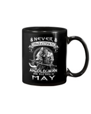 Never Underestimate An Old Man Born In May Mug tile