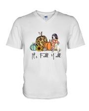 Pyrenean Mastiff V-Neck T-Shirt thumbnail