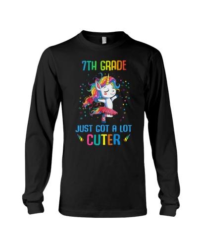 Unicorn 7th Grade Cuter