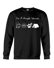 I'm A Simple Woman Beer Flip-flop Dog Tent Crewneck Sweatshirt thumbnail