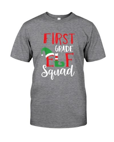 Christmas Elf Squad First Grade Teacher