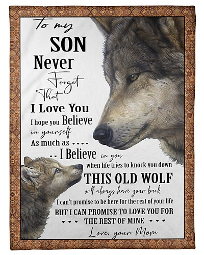 To my son never forget