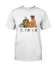 Boxer dog Classic T-Shirt front