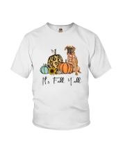 Boxer dog Youth T-Shirt thumbnail