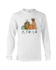 Boxer dog Long Sleeve Tee thumbnail