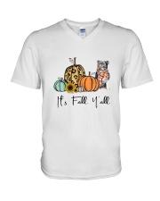 Staffie V-Neck T-Shirt thumbnail