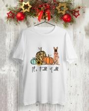 Belgian Malinois Classic T-Shirt lifestyle-holiday-crewneck-front-2
