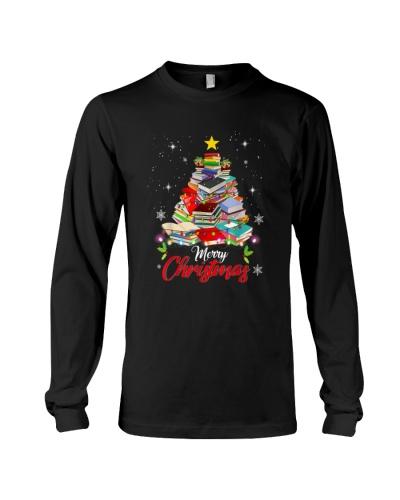 Merry Christmas Tree Shirt Love Reading
