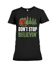 Don't Stop Believin' Premium Fit Ladies Tee thumbnail