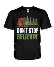 Don't Stop Believin' V-Neck T-Shirt thumbnail