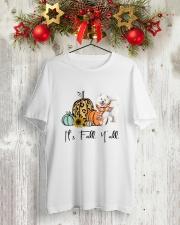 Samoyed Classic T-Shirt lifestyle-holiday-crewneck-front-2