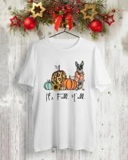 Australian Cattle Dog Classic T-Shirt lifestyle-holiday-crewneck-front-2