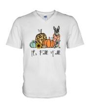 Australian Cattle Dog V-Neck T-Shirt thumbnail