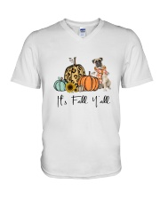 Bullmastiff V-Neck T-Shirt thumbnail