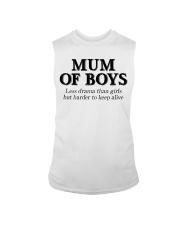 Mum Of Boys Sleeveless Tee thumbnail