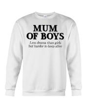 Mum Of Boys Crewneck Sweatshirt thumbnail