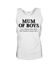 Mum Of Boys Unisex Tank thumbnail