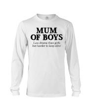 Mum Of Boys Long Sleeve Tee thumbnail