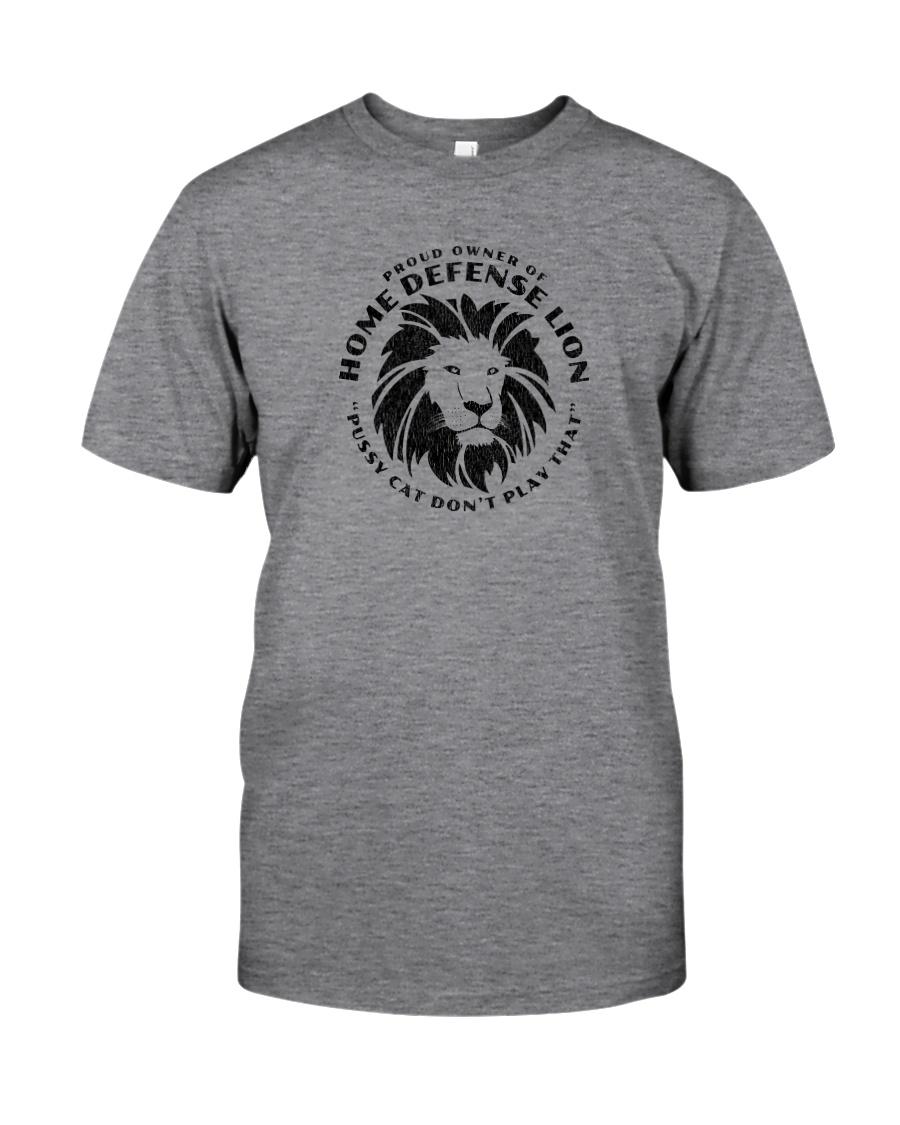 Home Defense Lion Classic T-Shirt