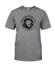 Home Defense Lion Classic T-Shirt front