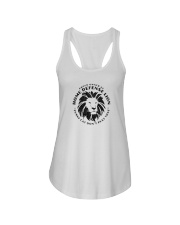 Home Defense Lion Ladies Flowy Tank thumbnail